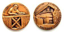 Medaglia Religiosa Parrocchia San Giuseppe Artigiano 1958 Roma 1993 (Val 93) Bro