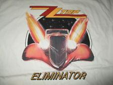 "Retro 2019 Zz Top ""Eliminator"" Concert Tour (Lg) Shirt Billy Gibbons Hill Beard"