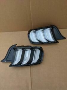 OEM 2020 Ford Mustang GT500 Left Driver & Right Passenger Side Tail Light Lamps