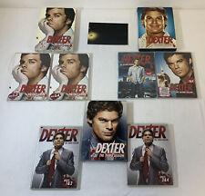 DEXTER tv show DVDs ~ SEASONS 1 2 AND 3 ~ 12 discs, 36 episodes