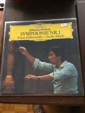 Johannes Brahms Symphonie Nr.1 LP Claudio Abbado (2001)