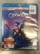 #NEW# ONWARD Disney - Pixar Blu-ray + DVD + Digital 2020 Sealed  No Slipcover