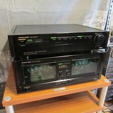 Onkyo M-5590 Endstufe + P-3390 Vorverstärker Top Zustand