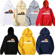 Neu Ellesse Kapuzenpullover Hoodies Sport Kleidung Sweatshirt Unisex Sweatshirt~