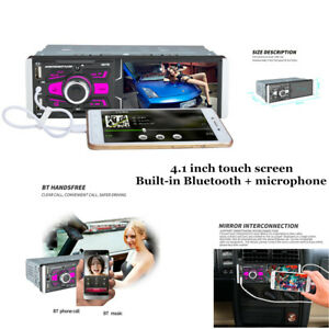 """4.1""""High Definition Touch Screen Car MP5 Player with Camera Bluetooth Microphone"""