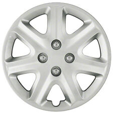"Wheel Covers Hubcaps new set of 4 Silver painted 15"" for 2003-2005 Honda Civic"