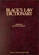 Blacks Law Dictionary, 7th Edition by Black, Henry Campbell, Garner, Bryan A.