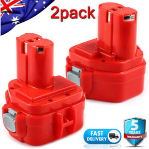2X 3000mAh Power Tool Battery for MAKITA 1220 1222 1250 6313D 6227D PA12 NIMH AU