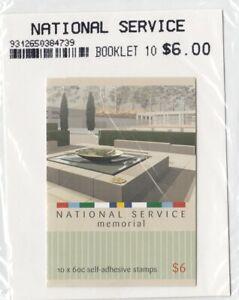 Australia 2011 National Service Stamp Booklet
