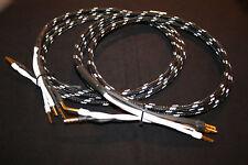 inakustik Black & White REFERENZ LS-1002, 2x 2,5 m, bi-wire, verg. Bananas