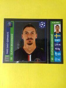 Zlatan Ibrahimovic  Panini Champions League 2014/15