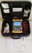 Fluke 199C Kit Scopemeter 200MHz 2.5GS/s Software Calibrated Digital Medical 3