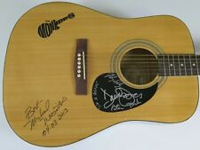 THE MONKEES Signed Autograph Guitar by All 4 Davy Jones, Peter Tork, Nesmith, +