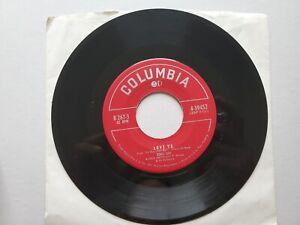 "DORIS DAY Paul Weston - Love Ya / Cuddle Up a Little Closer 1951 JAZZ POP 7"""