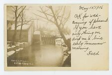 RPPC Old Mill at EATONTOWN NJ Monmouth County New Jersey Real Photo Postcard