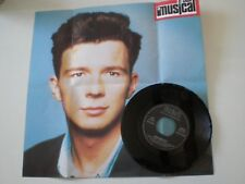 RICK ASTLEY Giving Up On Love SPAIN PROM0 ONLY fold out Poster PS 45 1989