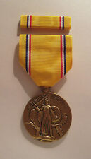 WW II American Defense Military Medal with RIBBON
