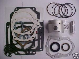 fits Kohler Engine REBUILD KIT FOR all K301 std piston w/gaskets for 12hp Kohler
