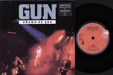 "Pistola de vergüenza contigo 7"" PS, Remix por Andy Taylor B/W mejores días-Album Version, am"