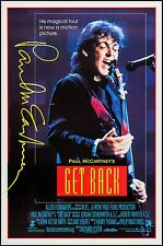 GET BACK -Paul McCartney - Beatles - original film / movie poster