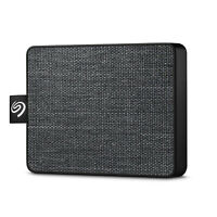 Seagate One Touch SSD 500GB External Solid State Drive - Black (STJE500400)
