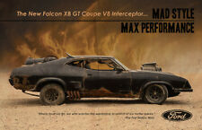 Mad Max Ford Falcon XB V8 Interceptor Advert POSTER