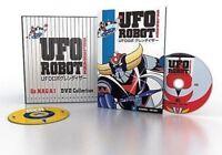 BOX 19 DVD ANIME/MANGA-UFO ROBOT GOLDRAKE SAGA SERIE COMPLETA goldorak,grandizer