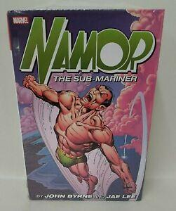 NAMOR Sub-Mariner BY BYRNE OMNIBUS Jae Lee Hardcover New Sealed HC w DJ Dent