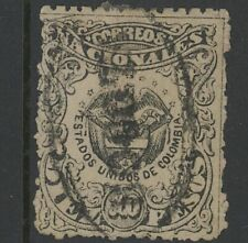 GN STAMPS- COLOMBIA, USED, #126, BOGOTA CANCEL, GREAT CENTERING