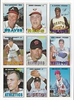 1967 Topps 3rd Series Baseball PICK LOT-YOU Pick any 1 of the 36 cards for $1!