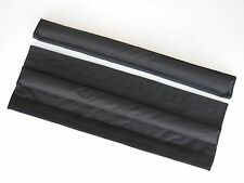 "Vitamin Blue 36"" Roof Rack Pads WIDE Non Fade Black (MADE USA) TRUCK RACK PADS"