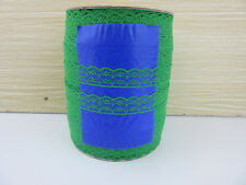 NEW ! Grass gree  lace ribbon lace sewing clothing accessories 10 yards