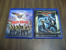 LOT OF 2  Red Tails (Blu-ray Disc, 2012, 2-Disc Set) & PATHFINDER UNRATED 2007