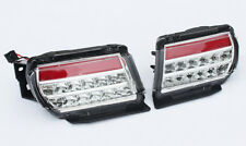 Car Rear Fog Light Tail Lamp Kits Fit for Toyota Prado 2010-18 LED Red & White
