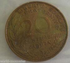 20 centimes marianne 1967 : TTB : pièce de monnaie française