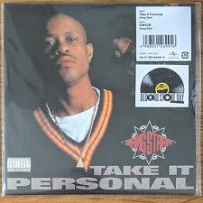 "GANG STARR - JAPAN RSD 45 7"" VINYL TAKE IT PERSONAL DWYCK DJ PREMIER GURU MINT"