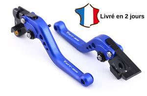 Mota Leviers d'embrayage et de frein court Neuf MT 09 et FZ 09 Aluminium Bleu