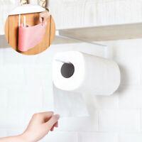 Kitchen Roll Holder Paper Toilet Towel Under Shelf Cabinet Storage Rack Hanger