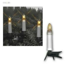 LED Exterior Lights, Kerzenkette Christmas Lighting 16/25 Candle Bubls E10