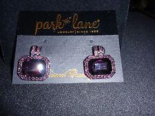 "Park Lane Jewelry, ""ROYAL GODDESS"" Earrings, Glass Gems, Austrian crystals, NEW!"
