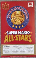 Super Mario All Stars carte VIP Club Nintendo (non gratté)
