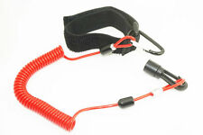 NEW Coiled Kayak Paddle Leash, sit on top canoe angler fishing rod holder. 1.25M
