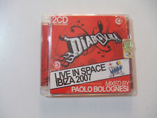 Diabolika Live In Space Ibiza 2007-CD (DOPPIO) Audio Compilation ITALIA 2007
