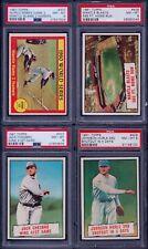PSA 8 1961 Topps #406 Mickey Mantle Blasts 565 FT. Home Run SET BREAK NEW HOLDER