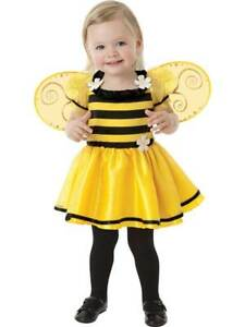 Girls Little Stinger Bumble Bee Baby Costume 0-36 months Fancy Dress Outfit