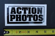 New listing Action Photos Extreme Sports Rare Photography Skate V29A Vintage Surfing STICKER