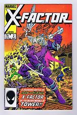 X-Factor #2 Very Fine Signed w/COA by Bob Layton 1986 Marvel Comics