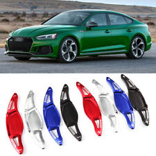 Alloy Steering Wheel DSG Paddle Extension Shifters Cover Fit For Audi RS5 17-18