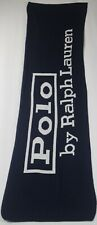 Polo Ralph Lauren Navy Blue Wool Winter Scarf NWT