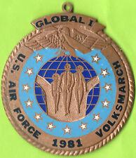 USA U.S. Air Force 1981 Medal 60mm